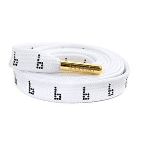 Braille x Lacorda Lace Belt - White