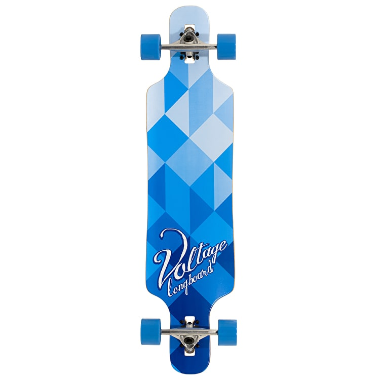 Voltage Drop Through Complete Longboard - Blue 39""