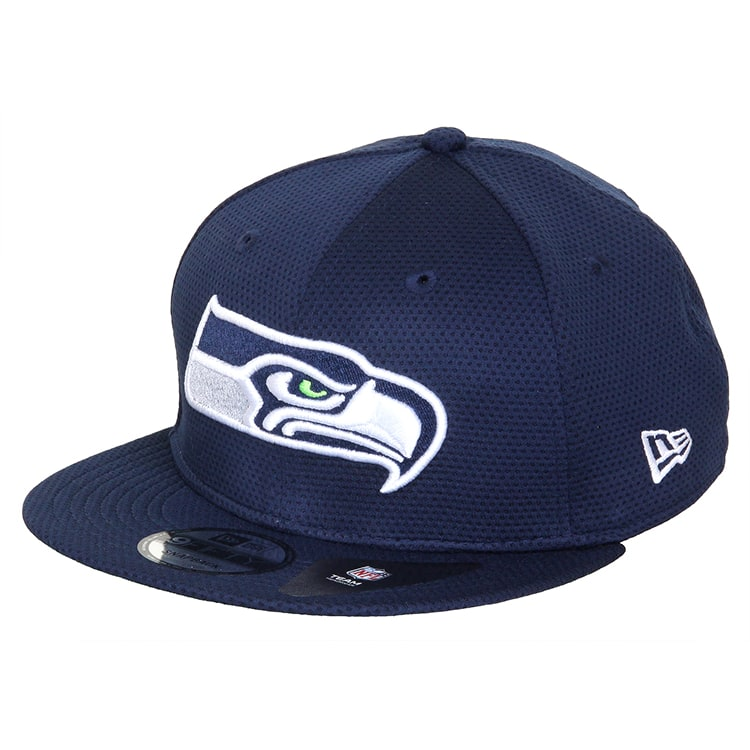 New Era 9FIFTY NFL Seattle Seahawks Mesh Cap - Navy