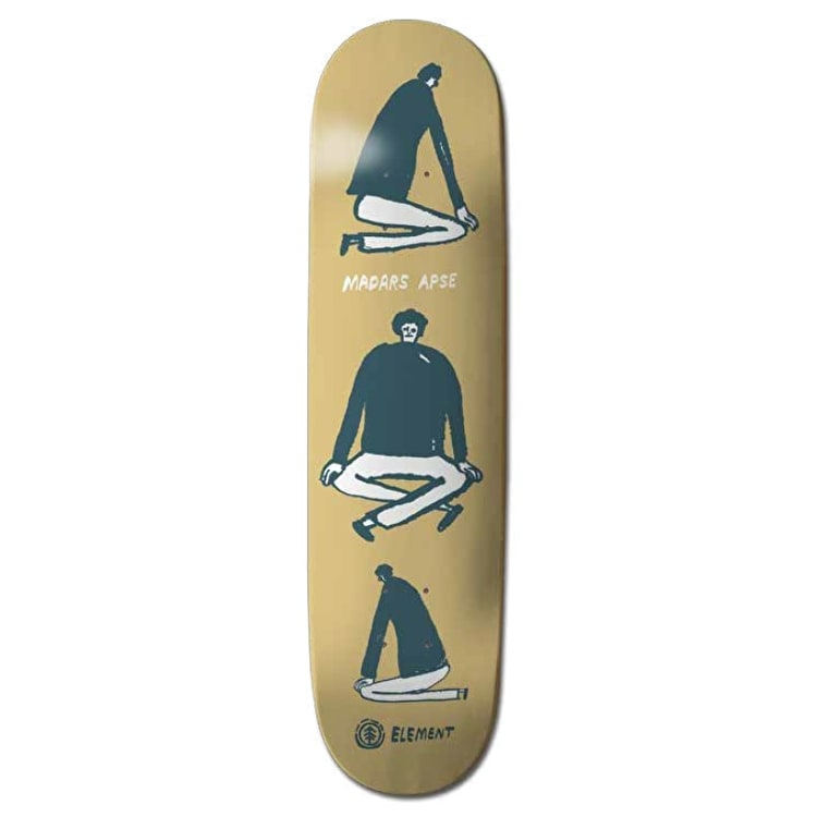 Element Ways Skateboard Deck - Madars 8.3125""
