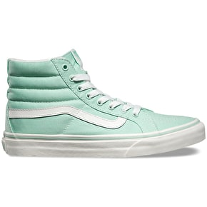 Vans Sk8-hi Slim Shoes - Gossamer Green/Blanc De Blanc