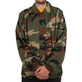 Huf Essentials TT Coaches Jacket - Woodland