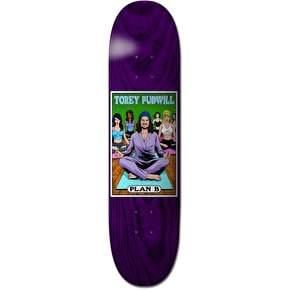 Plan B Alter Ego Skateboard Deck - Pudwill 7.75