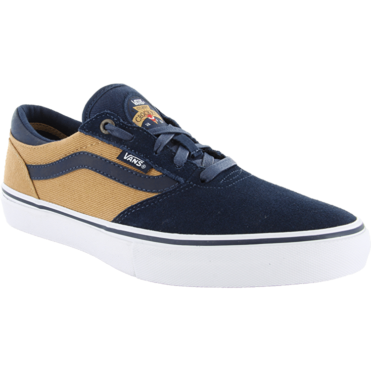 Vans Gilbert Crockett Pro Shoes - Navy/Tan