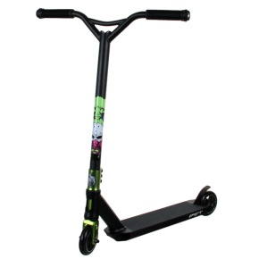 MGP x Grit Custom Scooter - End of Days Black/Green
