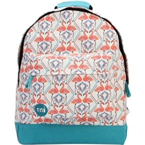 Mi-Pac Flamingos Backpack - White