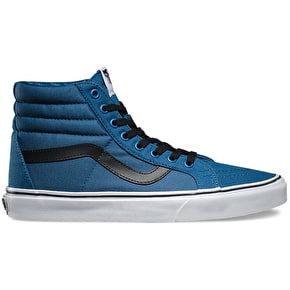 Vans Sk8-Hi Reissue Shoes - (Canvas) Navy/Black