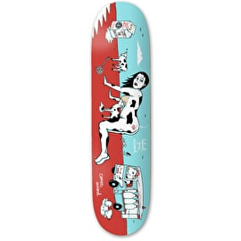 Drawing Boards Simply The Breast Skateboard Deck 8