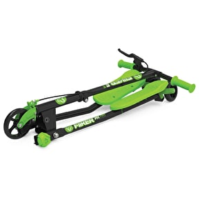 Y-Volution Y-Drifter A1 Air Complete Scooter - Black/Green