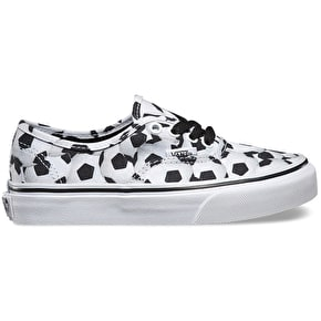Vans Authentic Kids Shoes - (Sports) Soccer/Black