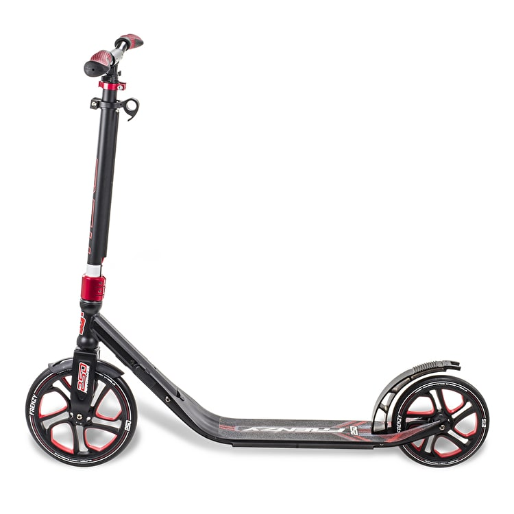 Frenzy 250mm Recreational Complete Scooter - Red