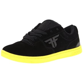 Fallen Seventy Six Skate Shoes - Black/Highlighter