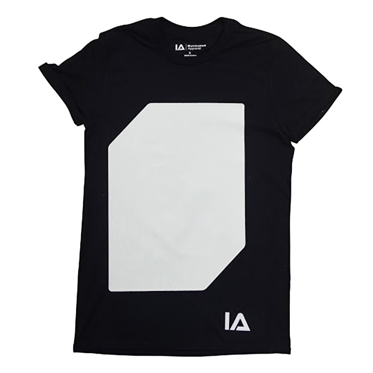 Illuminated T-Shirt - Black