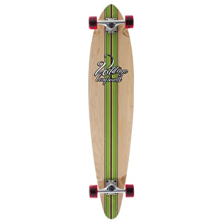 Voltage Big Pintail Complete Longboard - Green