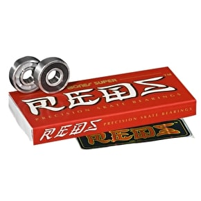 Bones Super Reds Bearings (Pack of 8)
