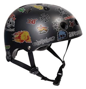 SFR Essentials Sticker Skate Helmet Black