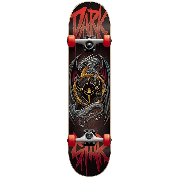 Darkstar Skateboard - Abyss Red 8""