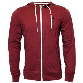 Vans Core Basics Knit Zip Hoodie - Beet Red / Heather