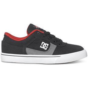DC Cole Pro TX Kids Shoes - Black/Red/Battleship