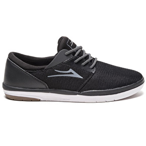 Lakai Fremont Skate Shoes - Black/White Mesh