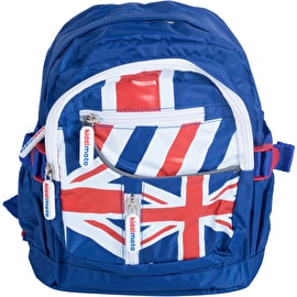 Kiddimoto Union Jack Small Backpack - Red/White/Blue