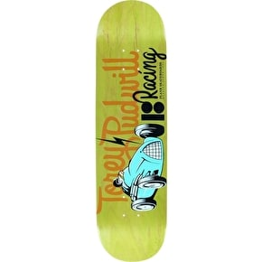 Plan B Skateboard Deck - Racers Pro Spec Pudwill 8