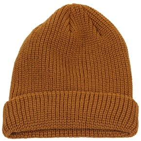 Volcom Full Stone Beanie - Brown