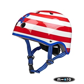 B-Stock Micro Safety Helmet - Pirate - Medium 53-58cm (No Box, Scratched)