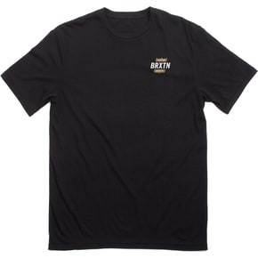 Brixton Garth II Short Sleeved Premium T-Shirt - Black/Gold