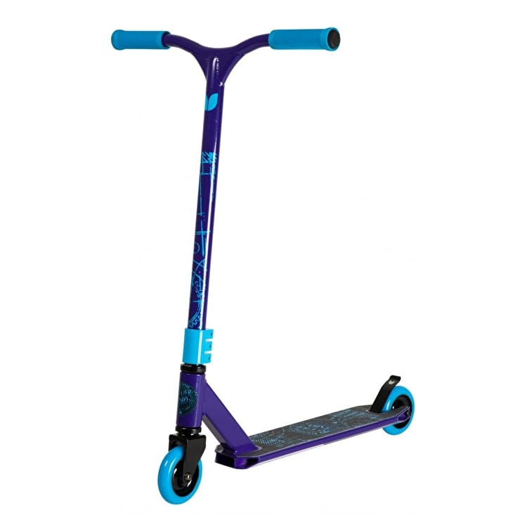 Blazer Pro Decay Series Blueprint Complete Scooter - Purple/Blue