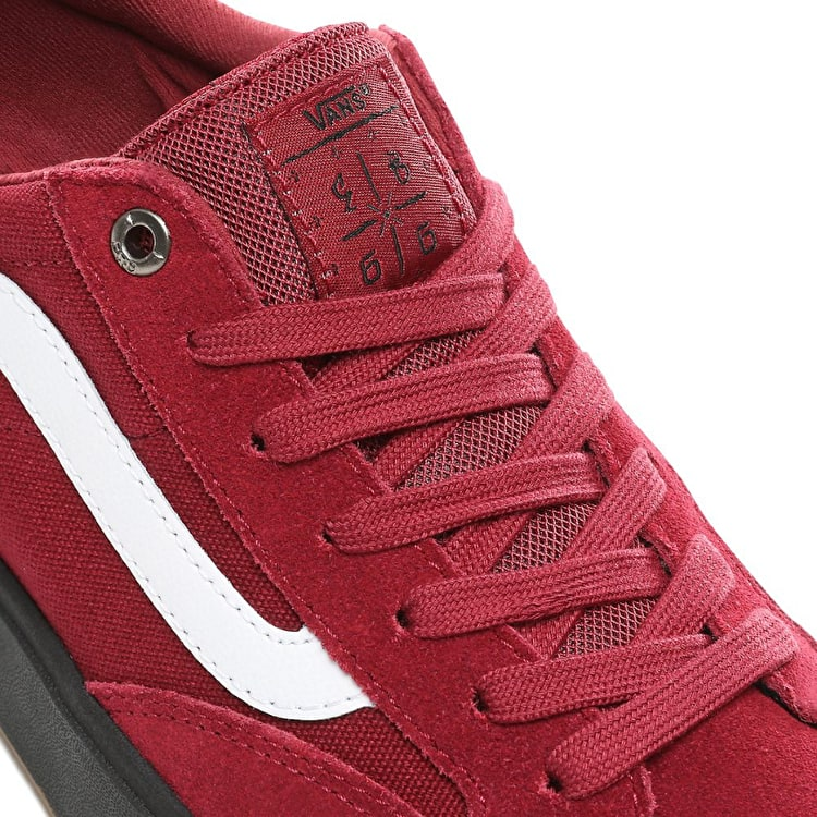 Vans Berle Pro Skate Shoes - Rumba Red