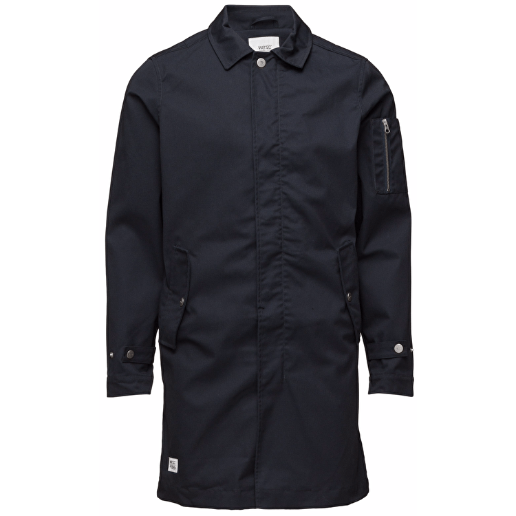 WeSC The Trench Jacket - Black