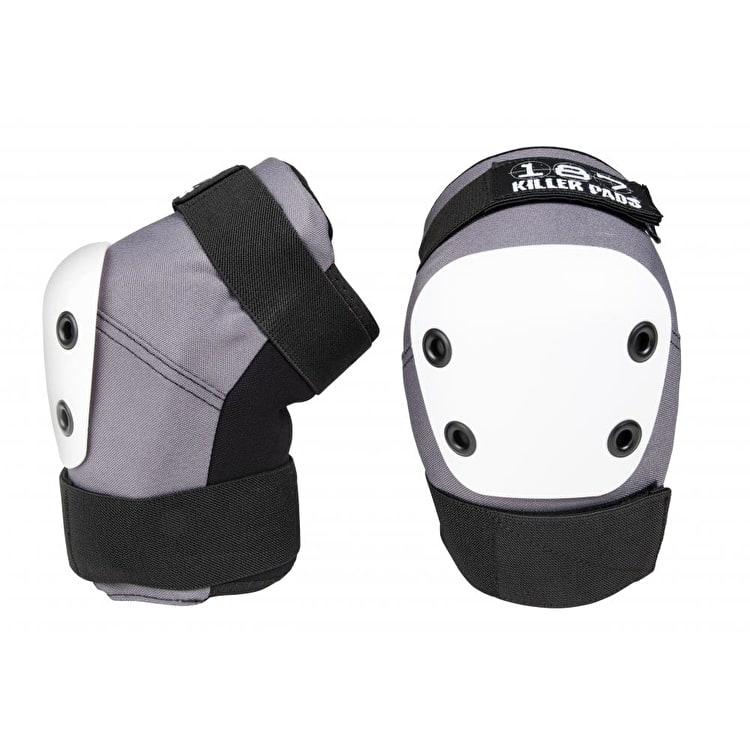 187 Killer Pro Elbow Pads - Grey/White