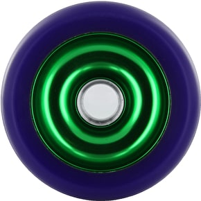 Eagle Green core Purple Pu Metal Core wheel - 100mm