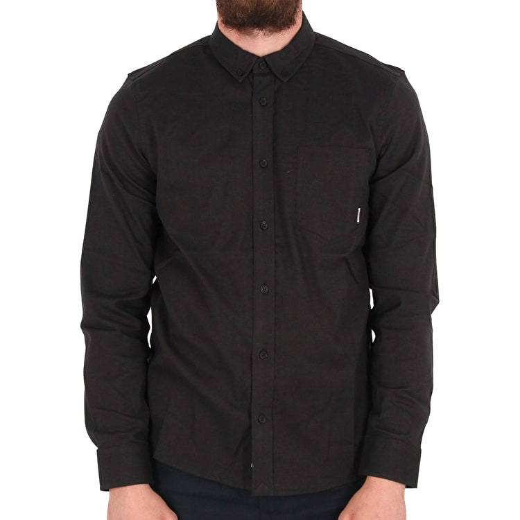 Element Greene Long Sleeve Shirt - Black