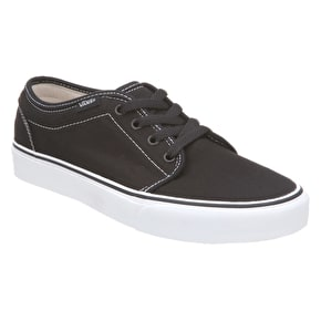 Vans 106 Vulcanized Shoes - Black / White UK Size 6 (B-Stock)
