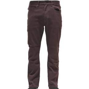 Fourstar Collective Tight Fit Denim Jeans - Plum