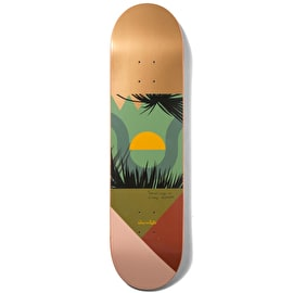Chocolate Hecox Tropical Studies Skateboard Deck 8.125