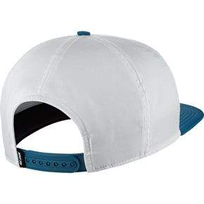 Nike SB Dri-Fit Fade Cap - White/Industrial Blue