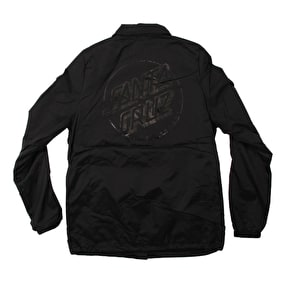 Santa Cruz Opus Dot Coach Womens Jacket - Black