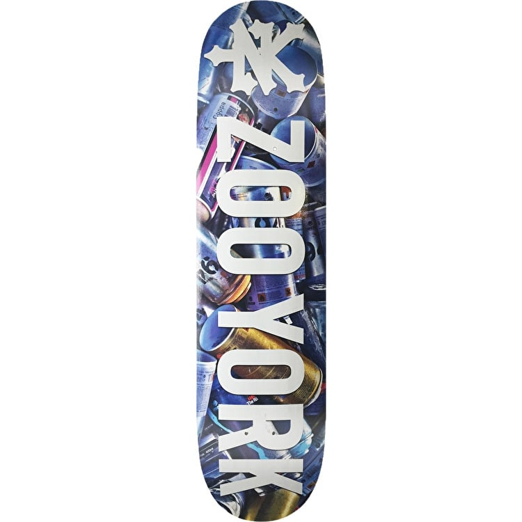 """Zoo York Photo Incentive Skateboard Deck - Cans 8.25"""""""