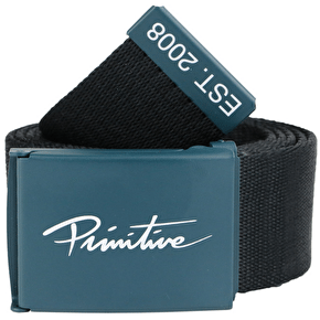 Primitive Nuevo Web Belt - Black