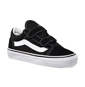 Vans Old Skool V Kids Shoes - Black/White