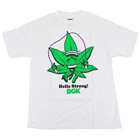 DGK Hella Strong T-Shirt - White