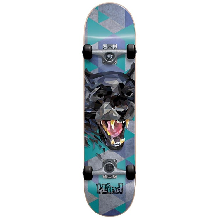 "Blind Panther Complete Skateboard 7.625"" - Teal"