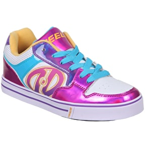 Heelys Motion Plus - White/Fuchsia/Multi