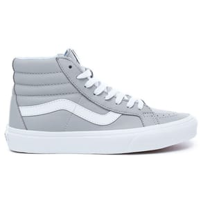 Vans SK8-Hi Reissue Skate Shoes - (Leather) Oxford/Drizzle