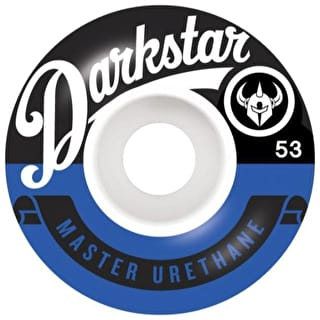 Darkstar Resolve Skateboard Wheels 53mm - Blue