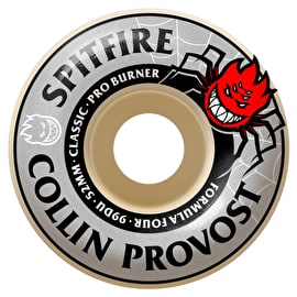 Spitfire Formula Four Colin Provost Burner 99D Skateboard Wheels (Pack of 4)