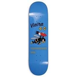 Pizza Skateboards Vieira WW3 Skateboard Deck - Blue - 8.375